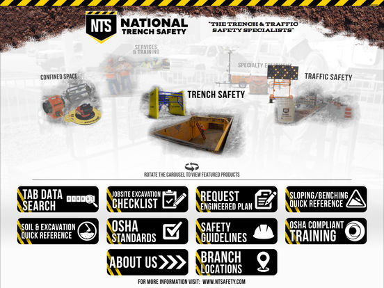 National Trench Safety iPad