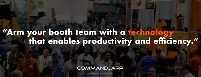 Trade Show Booth Team Command App