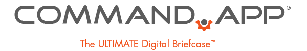 Command.App Logo The Ultimate Digital Briefcase