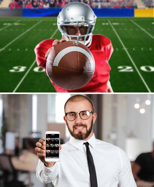 Football quarterback and salesman comparison