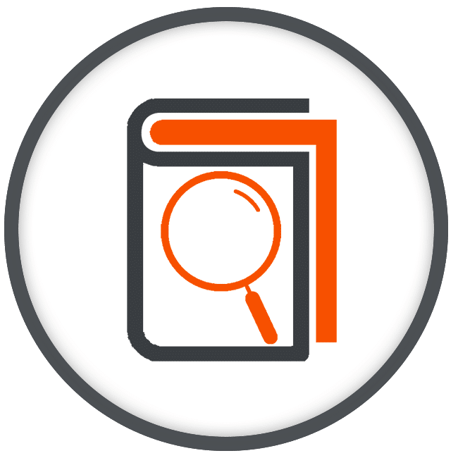 Content Search and Look Up Mobile App Icon
